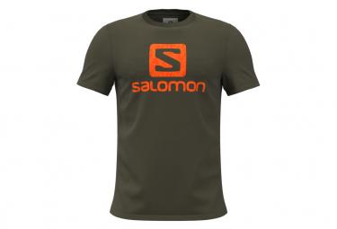 T-shirt Salomon OUTLife Logo Vert Homme