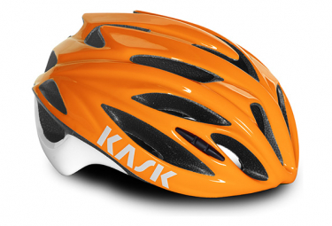 Casco Kask Rapido Noir / Orange
