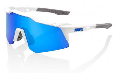 Gafas 100% Speedcraft XS white blue UV catégorie 3
