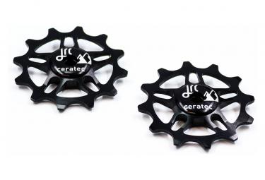 JRC Components Jockey Wheels 12D para SRAM Force / Red AXS Negro