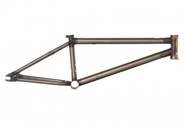 Cadre BMX S and M Whammo V2 Gris Flat Clear