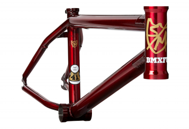 Cadre BMX S and M Whammo V2 Rouge