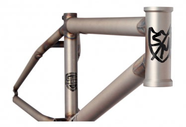Cadre BMX S and M ATF 20'' Gris Gloss Clear