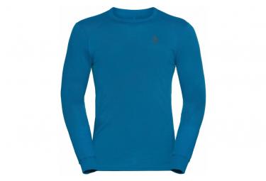 Maillot Manches Longues Odlo Active Warm Eco Bleu