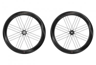 Juego de ruedas Campagnolo Bora WTO 60 Carbon Disc | 12x100 - 12x142 mm | Centerlock