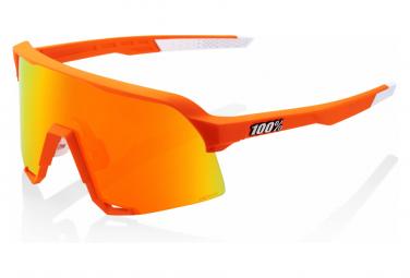 Gafas  100% S3 orange UV Catégorie 2