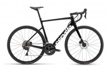 Bicicleta de carretera Cervélo Caledonia Disc Shimano 105 11V negro brillante 2021