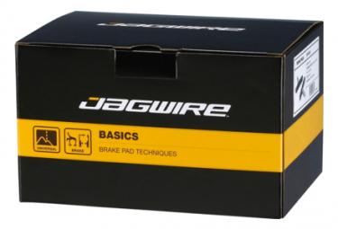 Patins de frein Jagwire Workshop Mountain Sport Brake Pad-Black 100pcs 50 pairs
