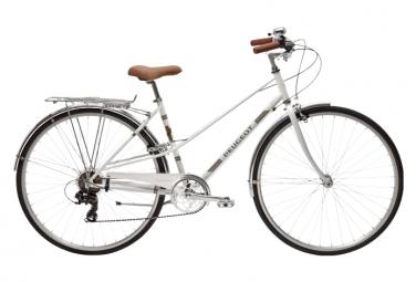 Bicicleta Ciudad Mujer Peugeot LC01 D7 Blanc
