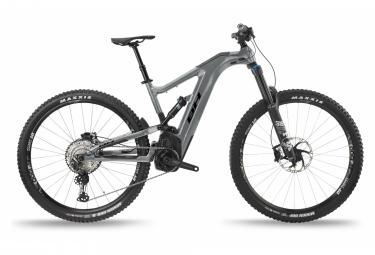 BH AtomX Carbon Lynx 5.5 Pro-S Full Suspension MTB Elektro Shimano SLX/XT 12V 720 Wh 29'' Grau 2021