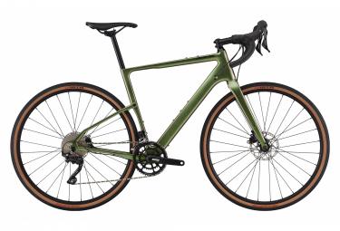 Gravel Bike Cannondale Topstone Carbon 6 Shimano GRX 10V 700 mm Vert Beetle 2021