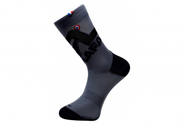 Rafal Big Logo Pair of Socks Anthracite Grey Black