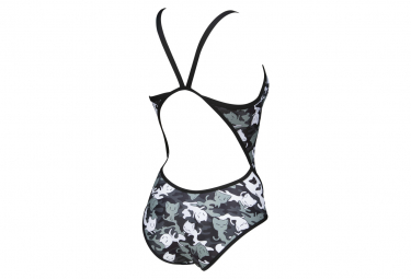 Women's Arena Crazy Camo Cats Superfly Back One-Piece Swimsuit