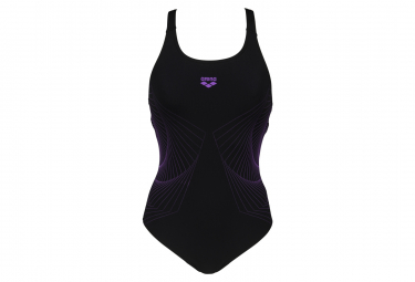 Arena Spiral Vision Swim Pro Back One-Piece Swimsuit Black