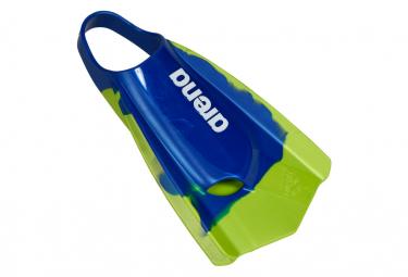 Paire de Palmes Arena Powerfin Pro Bleu Vert