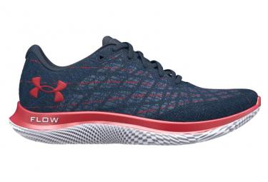 Chaussures de Running Under Armour Flow Velociti Wind Bleu / Rouge