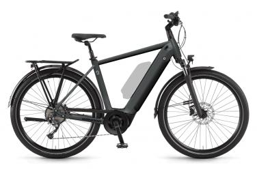 Bicicleta eléctrica urbana Winora Sinus 9 Shimano Alivio 9V 625 Wh 650b Gris 2021