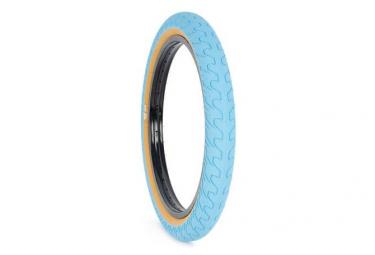 Rant Squad 20'' BMX Tire Blue Tan Wall