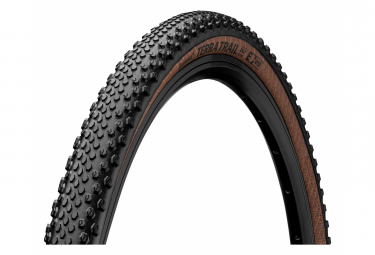 Continental Terra Trail 700 mm Gravel Reifen Tubeless Ready Faltbarer ProTection BlackChili Compound Transparent Sidewall E-Bike e25