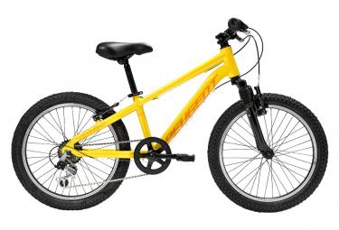 Bicicleta de montaña rígida para niños Peugeot JM-20 Shimano Tourney 6V 24 '' Amarillo 2021