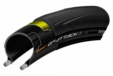 Continental Grand Prix Attack III 700mm Road Tire Tubetype flessibile Vectran Breaker BlackChili