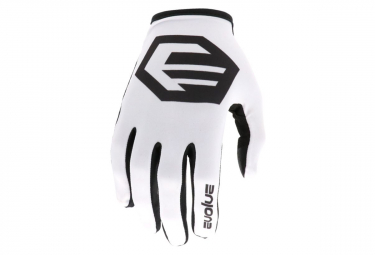 Evolve CRP Kinderhandschuhe Weiß / Schwarz