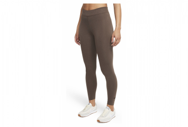 Collant 7/8 Femme Nike Sportswear Essential Marron