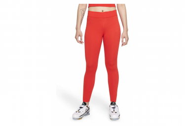 Collant 7/8 Femme Nike Sportswear Essential Rouge