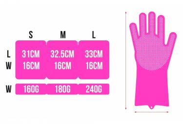 Muc-Off Deep Scrubber Gloves Pink