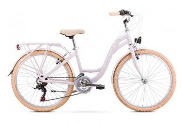 Vélo ROMET JUNIOR 24 pouces PANDA 1 blanc