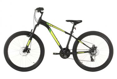 vidaXL Vélo de montagne 21 vitesses Roues de 27,5 pouces 38 cm Noir