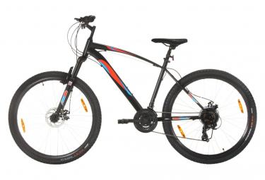 vidaXL Vélo de montagne 21 vitesses Roues 29 pouces Cadre 48 cm Noir
