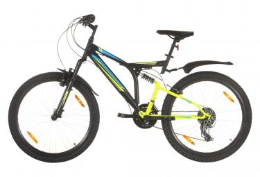 vidaXL Vélo de montagne 21 vitesses Roue de 26 pouces 49 cm Noir