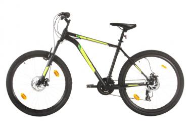 vidaXL Vélo de montagne 21 vitesses Roues de 27,5 pouces 42 cm Noir