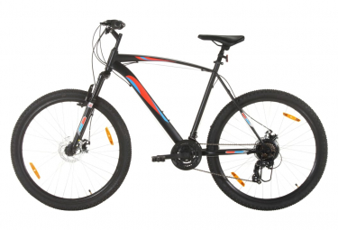 vidaXL Vélo de montagne 21 vitesses Roues 29 pouces Cadre 53 cm Noir