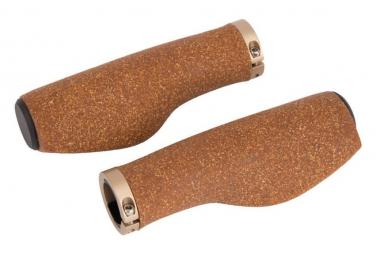 Lot de poignées Ergotec kyoto kork vtt 130/130mm