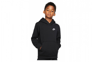 Nike Sportswear Club Kids Pullover Hoodie negro
