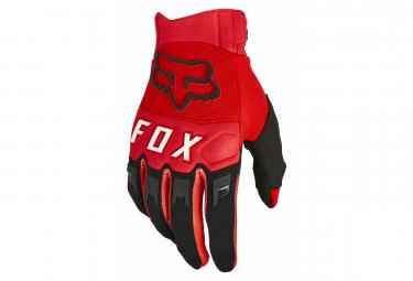 Gants Fox Dirtpaw Rouge Fluo