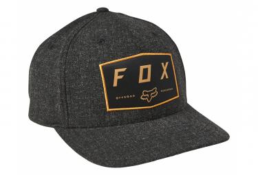 Casquette Fox Badge Flexfit Noir