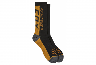 Fox Skew Crew Sock Black