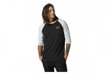 T-Shirt Fox Original Speed 3/4 Raglan Noir