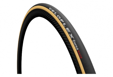 Veloflex Corsa 700mm Rennrad-Faltreifen Schwarz / Beige