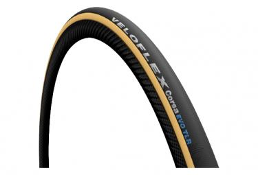 Veloflex Corsa Evo 700mm Flexibler schlauchloser Rennradreifen Schwarz / Beige