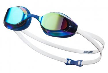 Lunette de Bain Nike Swim Vapor Mirror Blanc/Bleu