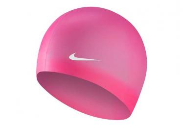 Bonnet de Bain Nike Swim Solid Silicone Training Rose