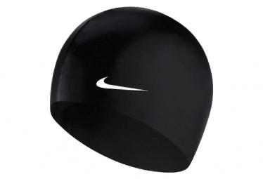 Bonnet de Bain Nike Swim Solid Silicone Training Noir