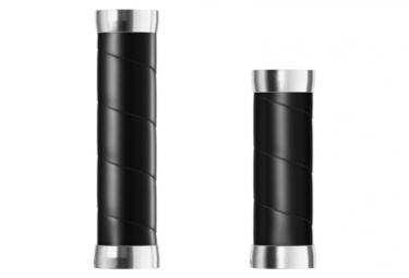 Brooks England Slender Leather Grips 130/110 mm Grips Black