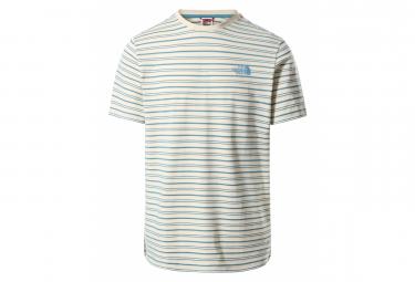 T-Shirt The North Face Tissaack Blanc / Bleu