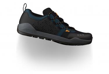 Zapatillas para MTB Fizik Terra Ergolace X2, negro/turquesa