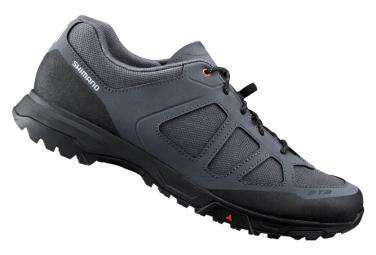 Coppia di scarpe MTB Shimano ET300 grigie